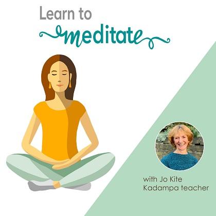 sitting meditator - Jo Kite